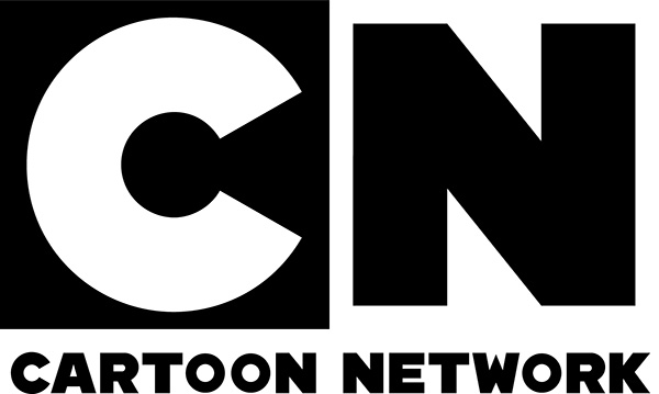 Cartoon Network Logo with black and white brand colors